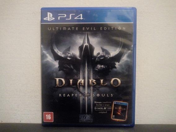 Ps4 Diablo 3 Reaper Of Souls - Ultimate Evil - Português...