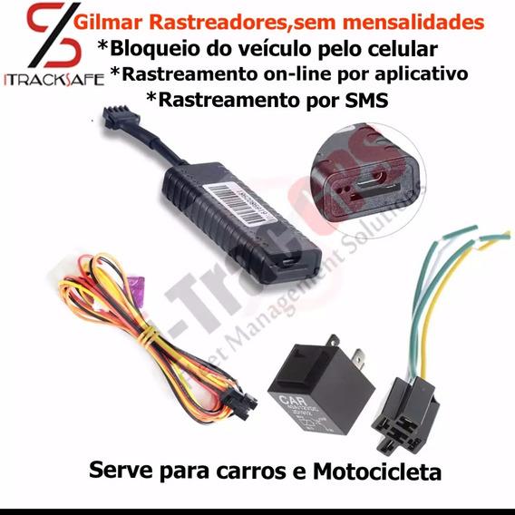 Rastreador Localizador Bloqueador Itracker Carro/ Moto