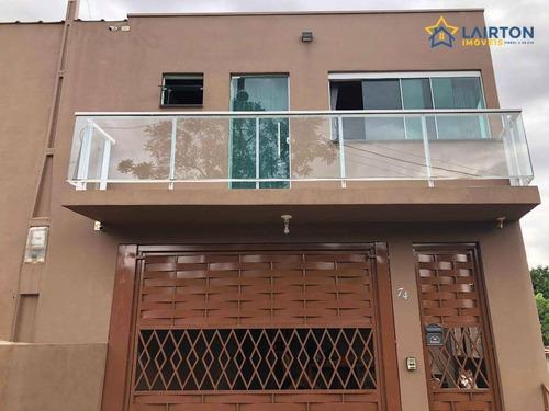 Casa Com 2 Dormitórios À Venda, 250 M² Por R$ 440.000 - Vicente Nunes - Nazaré Paulista/sp - Ca2339