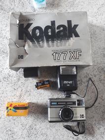 Antiga Câmera Fotográfica Kodak Instamatic 177