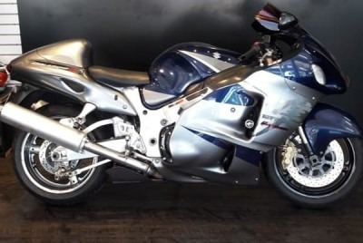 Motocicleta Suzuki Gsx 1300r Hayabusa 2007 Azul