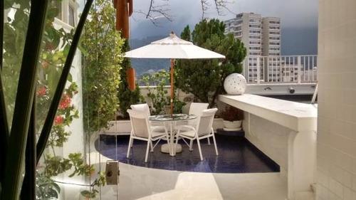 Imagem 1 de 21 de Cobertura Com 2 Dormitórios Para Alugar, 300 M² Por R$ 17.000,00/mês - Leblon - Rio De Janeiro/rj - Co0374