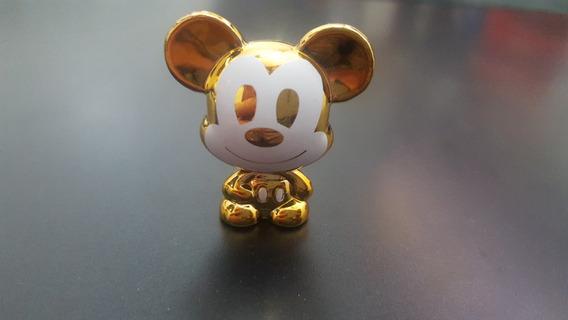 Disney Gogos Mickey Dourado Altura 3cm