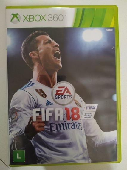Jogo Fifa 2018 Para Xbox 360 Semi-novo.