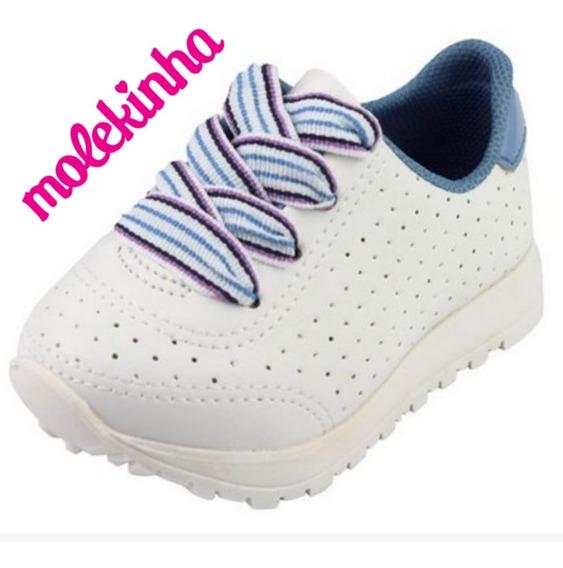 Tênis Menina Infantil Bebê Molekinha 001