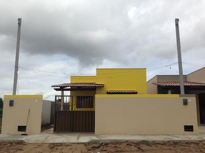 Casa Em Bela Vista, Macaíba/rn De 63m² 2 Quartos À Venda Por R$ 97.000,00 - Ca210407