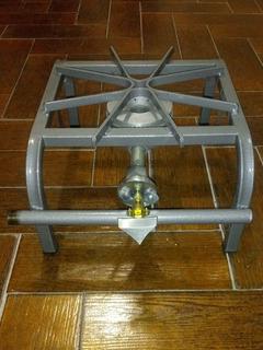 Parrilla A Gas 1 Quemador Reforzada Aluminio