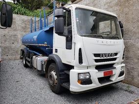 Iveco Tector 170 E 22 4x2 Ano 2015 Tanque Pipa Gascom