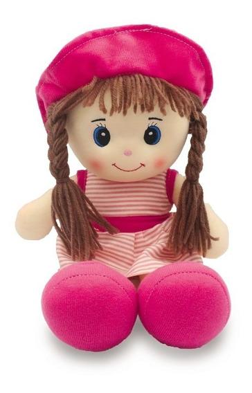 Boneca De Pano 40cm - Unik Toys