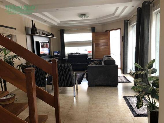 Sobrado Com 3 Dormitórios À Venda, 189 M² Por R$ 690.000 - Jardim Santa Clara - Guarulhos/sp - So1644