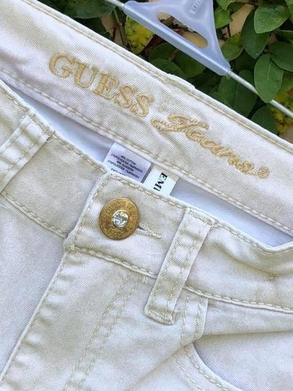 Pantalón Importado Nuevo Guess Talle 7 Brillos