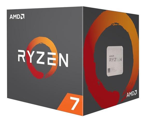 Micro Procesador Amd Ryzen 7 2700x 4.3ghz Octacore Am4 Mexx