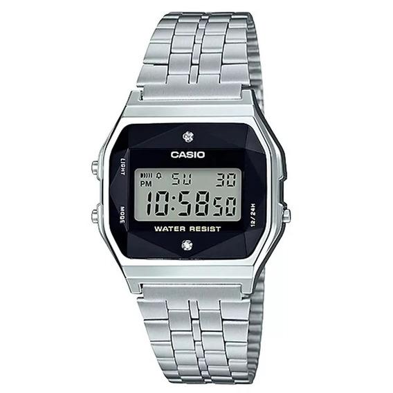 Relógio Casio Vintage Diamonda159wad-1df Original C/ Nf