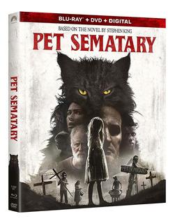 Pet Sematary 2019 Blu-ray + Dvd Import Original En Stock