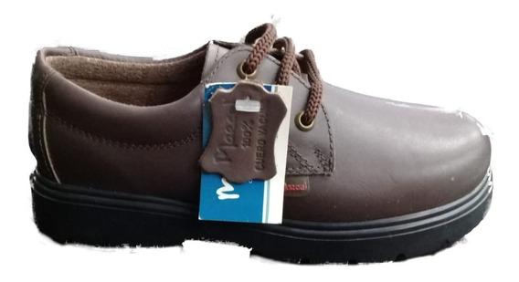 Zapato Colegial Cordon Marsel Cuero Vacuno