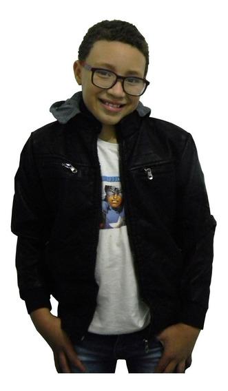 Jaqueta Infantil Masculina Blusa De Frio Crianças 4à 10 Anos