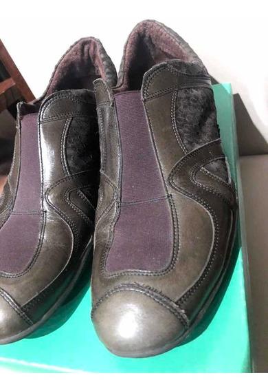 Zapatos Cerrados Piu Vicino Cuero 39 Comodisimos Recol/belg