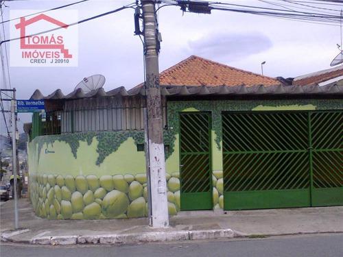 Imagem 1 de 15 de Casa Residencial À Venda, Vila Boaçava, São Paulo. - Ca0260