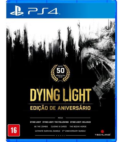 Dying Light Edição De Aniversário Ps4 Mídia Física Português