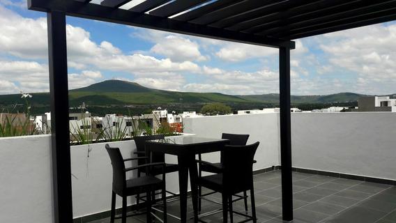 Casa Con Roof Garden En Cañadas Del Arroyo Corregidora Qro