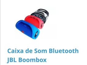 Caixa De Som Portátil Jbl Boombox Link Na Descrição