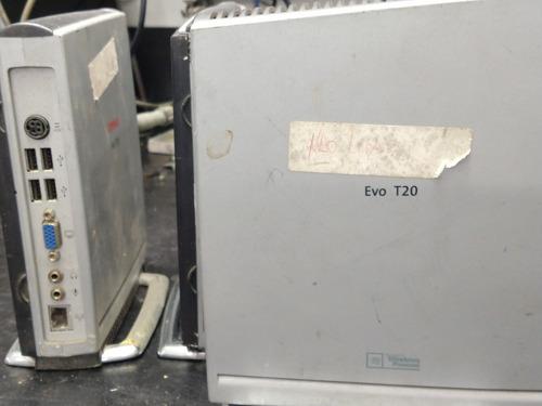 Compaq Evo T20 Mini Cpu Sem Memória E Sem Fonte
