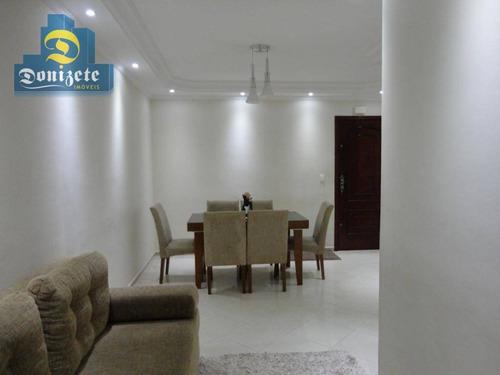 Cobertura Com 3 Dormitórios À Venda, 80 M² Por R$ 520.000,00 - Vila Marina - Santo André/sp - Co1662
