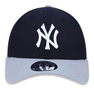 Boné New Era 940 New York Yankees Azul Marinho Mlb