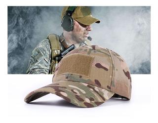 Gorra Táctico Visera Militar Camuflado Pixelado + Regalo