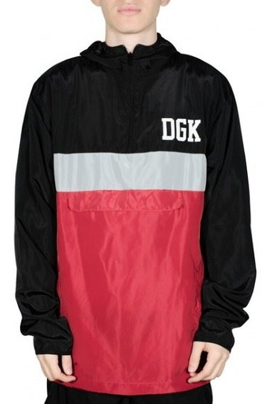 Jaqueta Corta Vento Dgk Blocked Hooded 11495 Original Nf