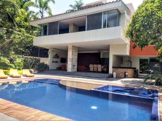 Casa En Venta Club De Golf Tabachines Cuernavaca 5 Recámaras
