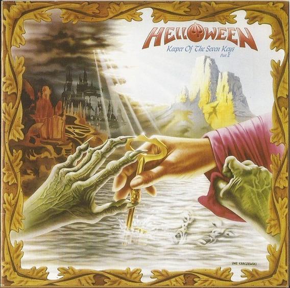 Helloween Keeper Of The Seven Part Ii Cd Doble Nuevo Origina