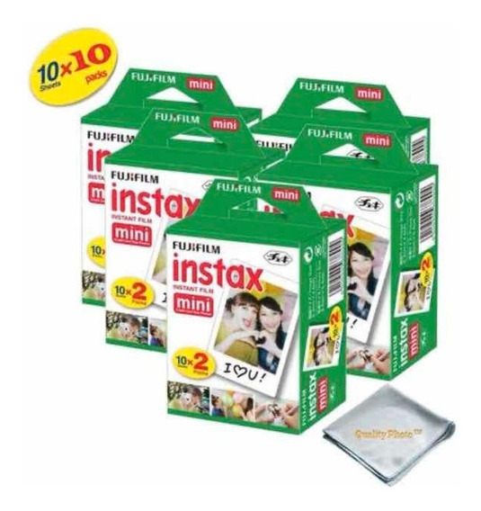 Filme Instax Mini Pack Com 100