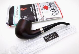 Pipa De Madera / Fumar En Pipa Kit Listo Para Usar Tabaco