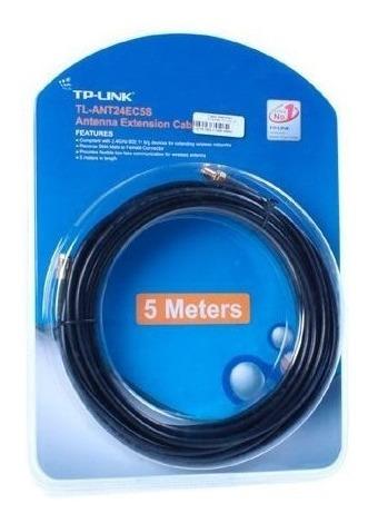 Imagen 1 de 4 de Cable De Extensión Para Antenas Tl-ant24ec5s 5 Metros