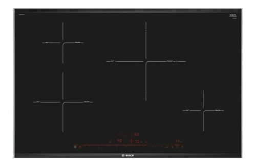 Imagen 1 de 1 de Anafe eléctrico Bosch Serie 8 PIE875DC1E negro 220V - 240V