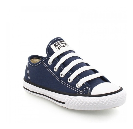 Tênis Infantil All Star Border Ck05050003 Marinho Original