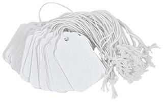Merangue 50 Pack 1 3 4 X 1 3 32 String Tags