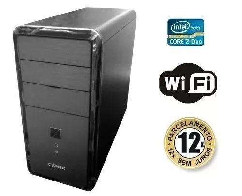 Computador Pc Cpu Core 2 Duo 4gb Hd 160 Wifi Garantia