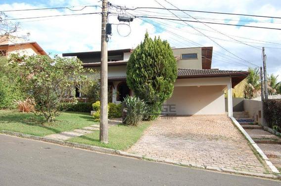 Casa Com 4 Dormitórios À Venda, 491 M² Por R$ 2.500.000,00 - Condomínio Village Visconde De Itamaracá - Valinhos/sp - Ca13360
