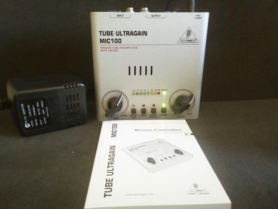 Pré Amplificador Mic100 Behringer | 110v | 20db