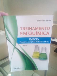 Treinamento Em Química Espcex 2ª Edição - Programa Completo