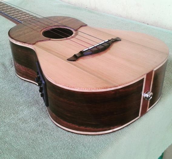 Cuatro Electroacústico. Mod. 03. Luthier Andrés Rodríguez