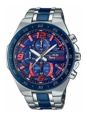 Relógio Casio Edifice Efr-564d Toro Rosso Novo Modelo Red Bu