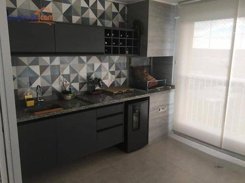 Apartamento Com 3 Dormitórios À Venda, 122 M² Por R$ 787.000 - Jardim Das Indústrias - São José Dos Campos/sp - Ap11818