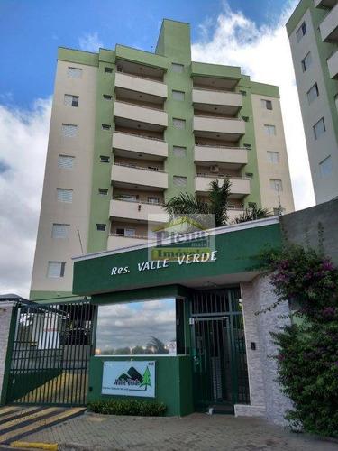 Imagem 1 de 9 de Apartamento Com 2 Dormitórios À Venda, 58 M² Por R$ 225.000 - Parque Gabriel - Hortolândia/sp - Ap0995