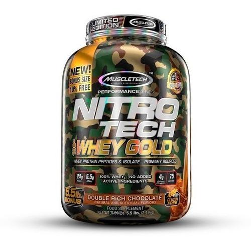 Proteina Muscletech Nitro Tech Whey Gold 5.5 Libras