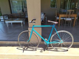 Bicicleta Fixie Restaurada R28 Freno Contrapedal