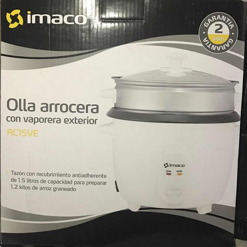 Olla Arrocera 1.5 Lts Imaco Nueva En Caja