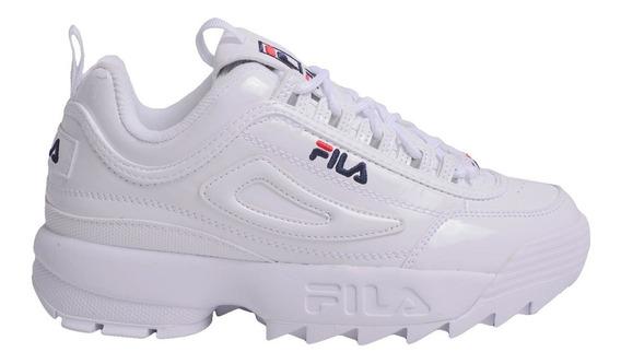 Zapatillas Fila Disruptor Ii Premium Patent -5fm00542125- Tr